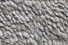Decorative cement wall Stock Image