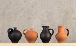 Decorative ceramic handmade stock photography