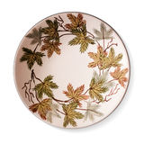Decorative ceramic plate. Art and craft royalty free illustration