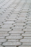 Decorative ceramic tiles pavement Royalty Free Stock Photos