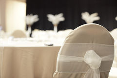 Decorative chair cover Royalty Free Stock Image