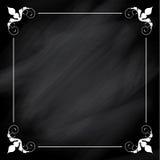 Decorative chalkboard background Stock Photography