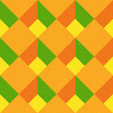 Decorative checkered pattern - seamless background - citrus texture Royalty Free Stock Photography