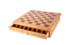 Decorative chessboard isolated Royalty Free Stock Images