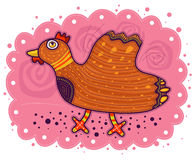 Decorative chicken Royalty Free Stock Photo