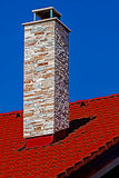 Decorative chimney Royalty Free Stock Images