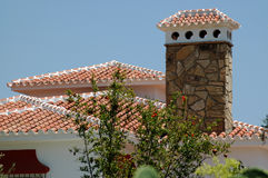 Decorative chimney Royalty Free Stock Photo
