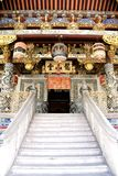 Decorative Chinese Clan House Entrance stock images
