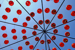 Decorative chinese lanters Royalty Free Stock Images