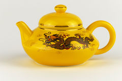 Decorative Chinese teapot Stock Images