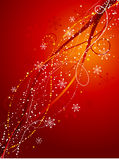 Decorative christmas abstract Stock Photography