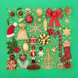Decorative Christmas Abstract Festive Background