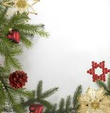 Decorative christmas back Royalty Free Stock Photos