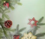 Decorative christmas back Royalty Free Stock Images
