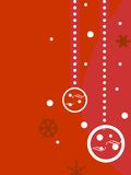Decorative Christmas background Royalty Free Stock Image