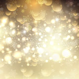 Decorative Christmas background with bokeh lights. Decorative Christmas background with bokhe lights Royalty Free Stock Photo