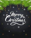 Decorative Christmas background Royalty Free Stock Photography