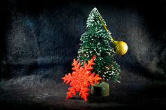 Decorative Christmas background Stock Photography