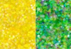 Decorative Christmas backgrounds/set. Stock Photography