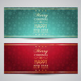 Decorative Christmas backgrounds. With snowflake designs Royalty Free Stock Photo