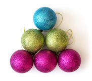 Decorative christmas balls Royalty Free Stock Photography