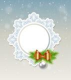 Decorative Christmas banner Royalty Free Stock Photo