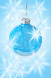 Decorative Christmas bauble Stock Photography