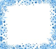 Decorative Christmas Border Stock Photo