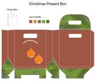 Decorative christmas box Stock Image