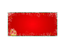 Decorative Christmas card Stock Photo