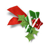 Decorative Christmas composition Stock Photos