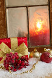 Decorative christmas composition Royalty Free Stock Photography