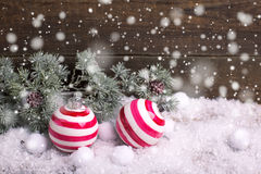Decorative christmas composition. Stock Photography