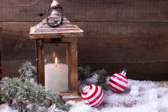 Decorative christmas composition. Royalty Free Stock Photography