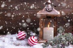Decorative christmas composition. Stock Photo