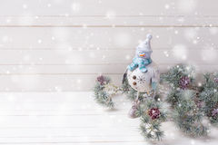 Decorative christmas composition Stock Photography