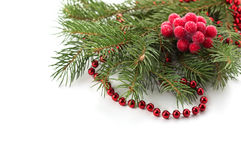 Decorative christmas composition Royalty Free Stock Image