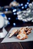 Decorative christmas cookies Stock Photography