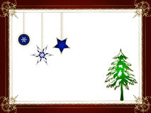 Decorative christmas design Stock Photography