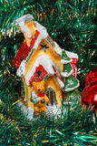 Decorative Christmas house Royalty Free Stock Image