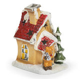 Decorative Christmas house Stock Photo