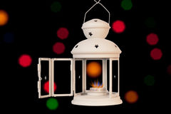 Decorative christmas lamp Royalty Free Stock Photo