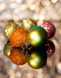 Decorative Christmas ornaments Stock Photo