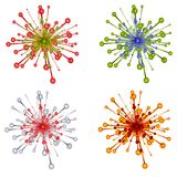 Decorative Christmas Ornaments Stock Images