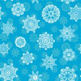Decorative Christmas pattern Royalty Free Stock Images