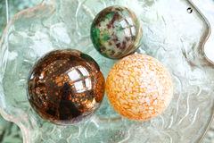 Decorative Christmas Spheres Stock Image