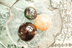 Decorative Christmas Spheres Royalty Free Stock Photo