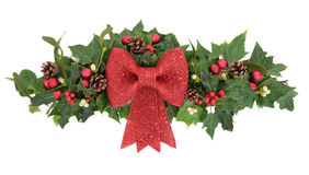 Decorative Christmas Spray Royalty Free Stock Image