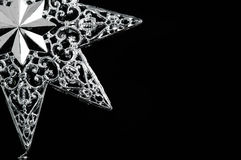 Decorative christmas star Stock Image