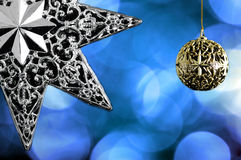 Decorative christmas star Royalty Free Stock Images